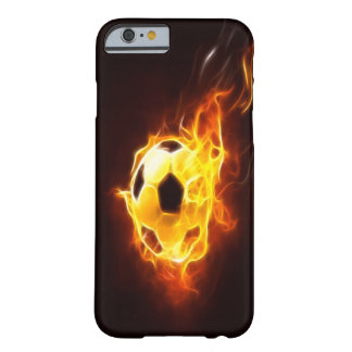 Angezündeter Fußball iPhone 6 Kasten Barely There iPhone 6 Hülle