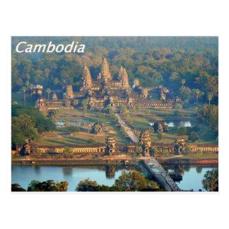 - Angkor-WAT-Angie. Postkarte