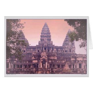 Angkor Wat - Kambodscha - Dämmerung Karte