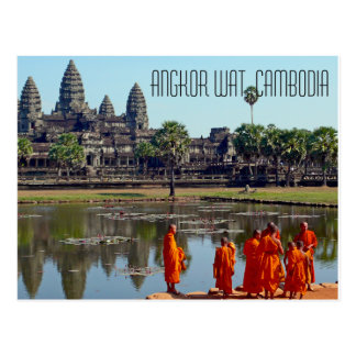 Angkor Wat Kambodscha Postkarte