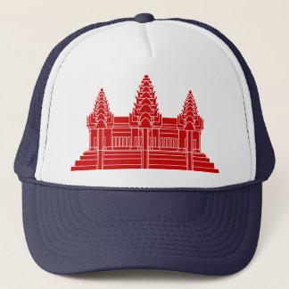 Angkor Wat Kambodschaner/Khmer-Flagge Truckerkappe