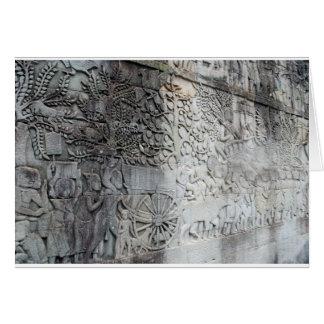 Angkor Wat Schönheit Notecard Karte