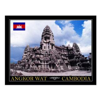 Angkor Wat Tempel, Kambodscha Postkarte