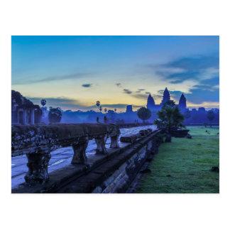 Angkor Wat Tempel - Kambodscha-Postkarte Postkarte