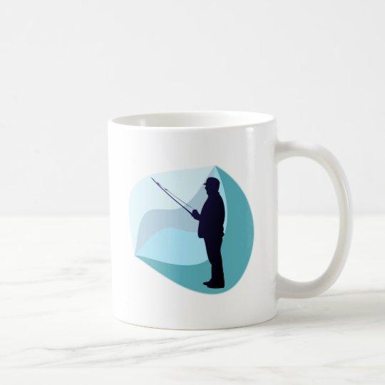 Angler fisher kaffeetasse
