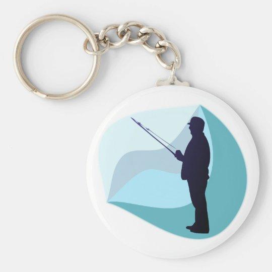 Angler fisher schlüsselanhänger