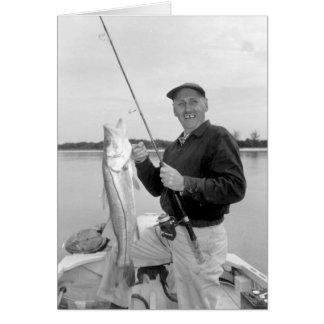 Angler mit Snook, Marco Island, Florida, 1959 Karte
