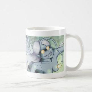 "Anglerfish-Meerjungfrau: ""OM NOM NOM"" Tasse"