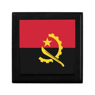 Angola-Flagge Erinnerungskiste