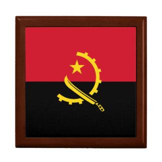 Angola-Flagge Geschenkbox