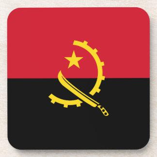 Angola-Flagge Getränkeuntersetzer