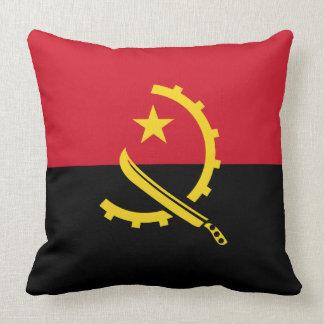 Angola-Flagge Kissen