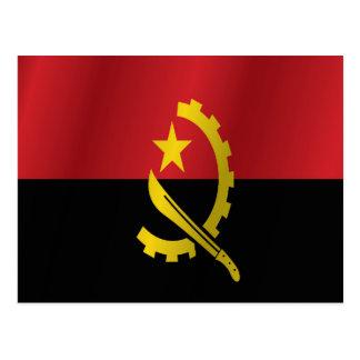 Angola-Flagge Postkarte