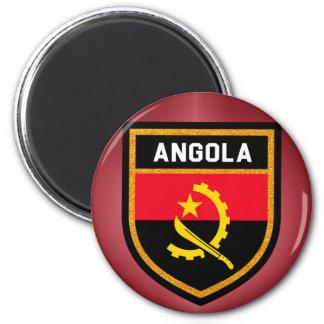 Angola-Flagge Runder Magnet 5,1 Cm