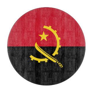 Angola-Flagge Schneidebrett