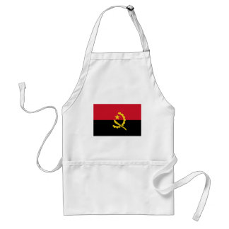 Angola-Flagge Schürze