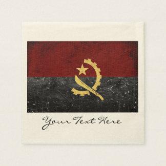 Angola-Flaggen-Party-Servietten Papierserviette