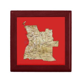 Angola-Karten-Geschenkboxen Erinnerungskiste