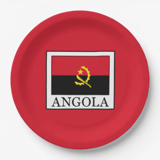 Angola Pappteller