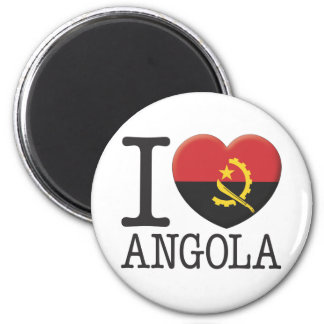 Angola Runder Magnet 5,1 Cm