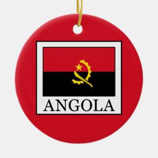 Angola Rundes Keramik Ornament