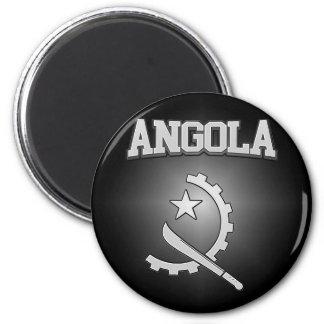 Angola-Wappen Runder Magnet 5,1 Cm