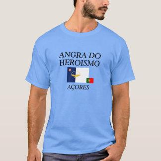 Angra tun Heroismo Açores farbiges Shirt