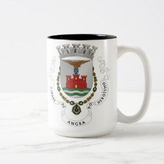 Angra tun Heroismo Kaffee-Tasse Zweifarbige Tasse