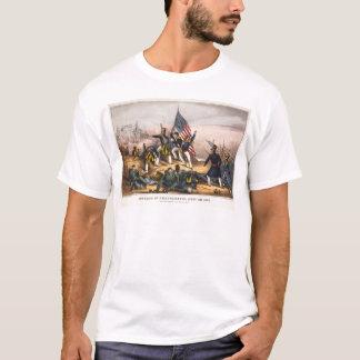 Angriff auf Chapultepec Mexiko-Amerikaner Krieg T-Shirt