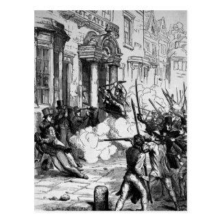 Angriff auf dem Westgate Hotel, Newport Postkarte