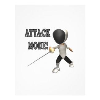 Angriffs-Modus Personalisierte Flyer