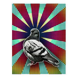 Angry Pigeon Postcard Postkarte