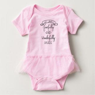 Ängstlich und wunderbar gemacht, Baby-Overall Baby Strampler
