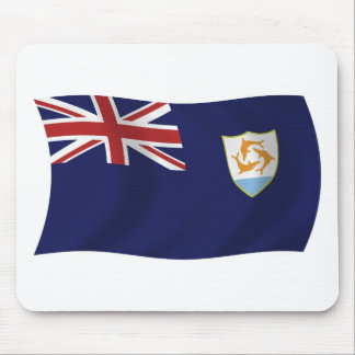 Anguilla-Flagge Mousepad