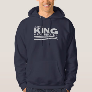 Angus-König für Senat Hoodie