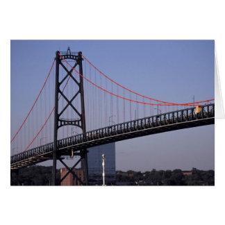 Angus L Macdonald Brücke, Halifax, Nova 2 Karte