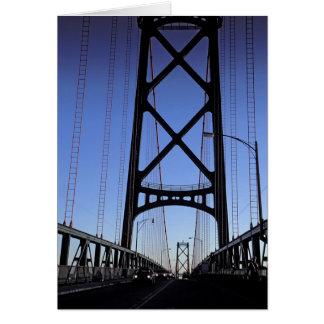 Angus L Macdonald Brücke, Halifax, Nova Karte
