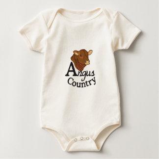 Angus-Land Baby Strampler