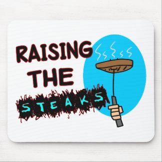 Anheben der Steaks Mauspad
