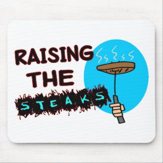 Anheben der Steaks Mousepad