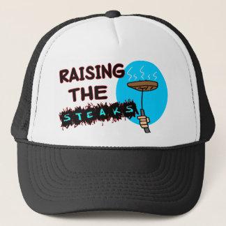 Anheben der Steaks Truckerkappe