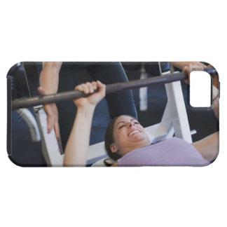 Anhebende Gewichte 2 der Frau iPhone 5 Etui