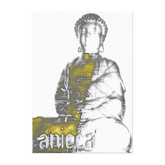 Anicca - der fortwährend ändernde Impermanence Leinwanddruck