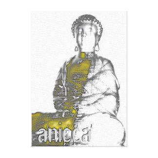 Anicca III eingewickelte Leinwand