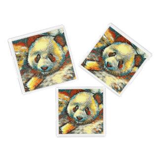 AnimalArt_Panda_20170601_by_JAMColors Acryl Tablett