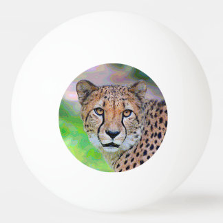 AnimalPaint_Cheetah_20171201_by_JAMColors Ping-Pong Ball