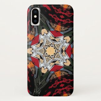 Anime-Art-Kriegs-Mandala iPhone X Hülle