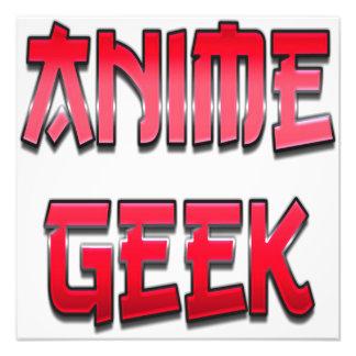 Anime-Aussenseiter-Rot Fotodrucke