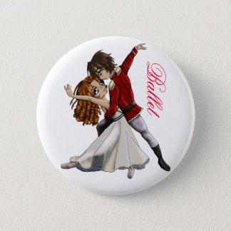 Anime-Ballett-Knopf Runder Button 5,7 Cm