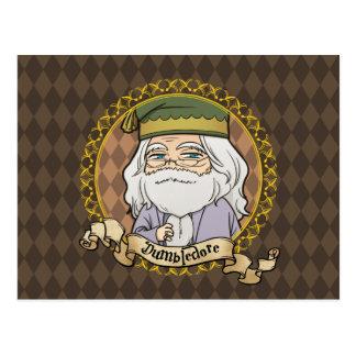 Anime Dumbledore Postkarte